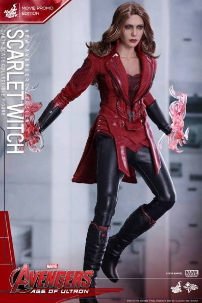 Hot Toys New Avengers Scarlet Witch - levitating
