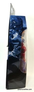 Marvel Legends Cottonmouth figure - side package