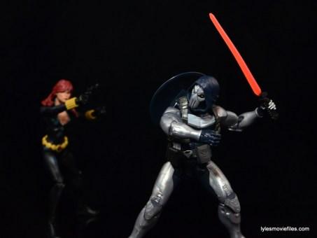 Marvel Legends Taskmaster figure -ready for Black Widow