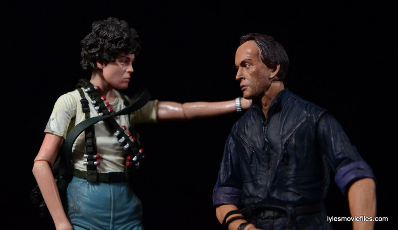 NECA Aliens Ellen Ripley figure - thanking Bishop