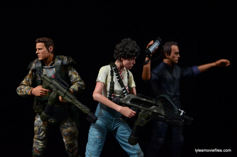 NECA Aliens Ellen Ripley figure - with Windrix and Bishop