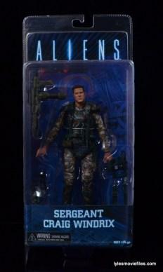 NECA Aliens Sgt Craig Windrix figure -front package