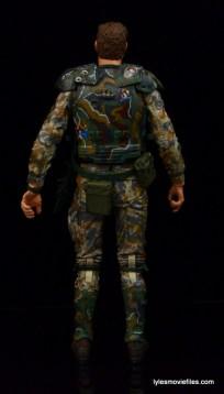 NECA Aliens Sgt Craig Windrix figure -rear