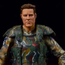 NECA Aliens Sgt Craig Windrix figure -wide frontal