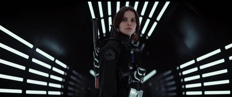ROGUE ONE A STAR WARS STORY - Felicity Jones as Jyn Erso