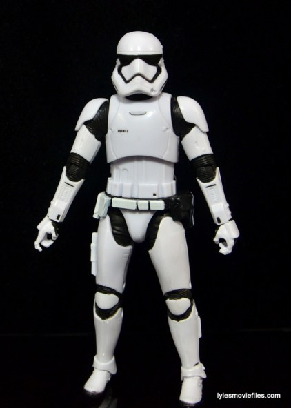 Star Wars The Force Awakens - The Black Series Stormtrooper review -front