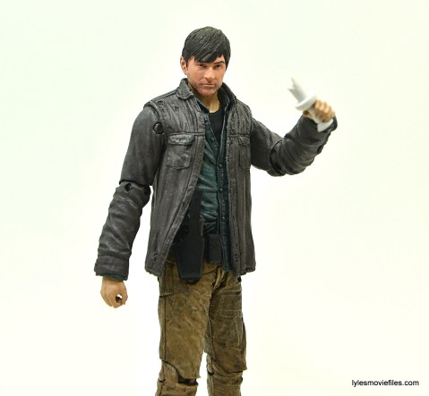 The Walking Dead Gareth figure review - holding candle