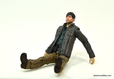 The Walking Dead Gareth figure review - sitting