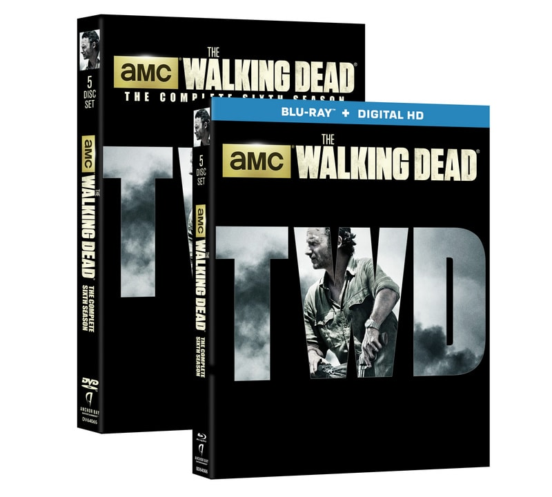 The Walking Dead Season 6 - blu ray and DVD