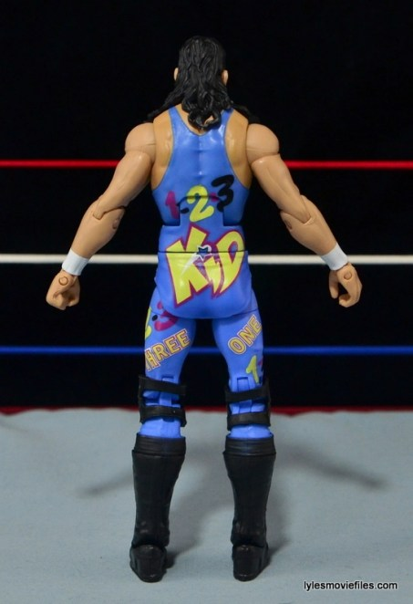 WWE 123 Kid figure review - rear