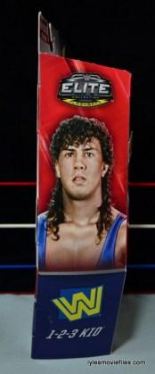 WWE 123 Kid figure review - side package