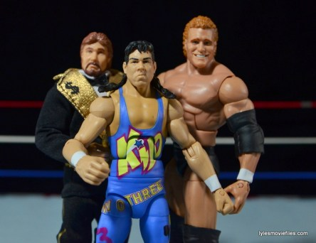 WWE 123 Kid figure review - with Ted DiBiase and Sycho Sid
