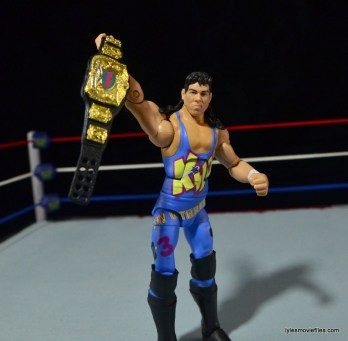 WWE 123 Kid figure review - with title belt