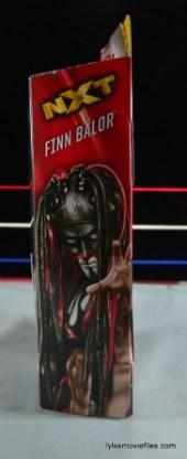 WWE Elite 41 Finn Balor - side package
