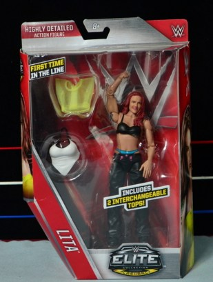 WWE Elite 41 Lita figure - front package