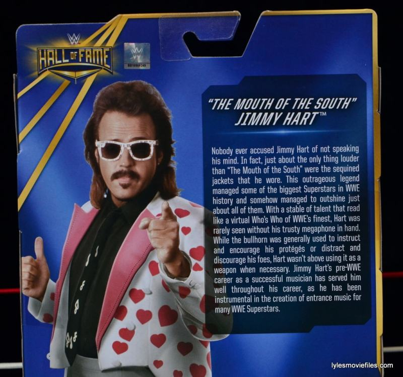 WWE Hall of Fame Jimmy Hart figure -bio-min
