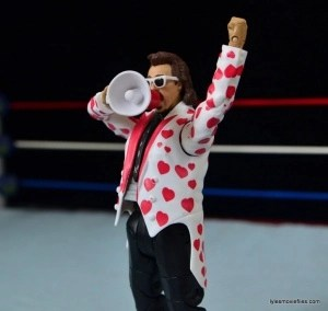 WWE Hall of Fame Jimmy Hart figure -holding megaphone-min