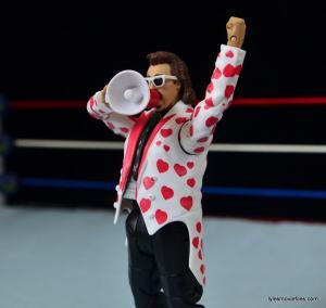 WWE Hall of Fame Jimmy Hart figure -holding megaphone-min