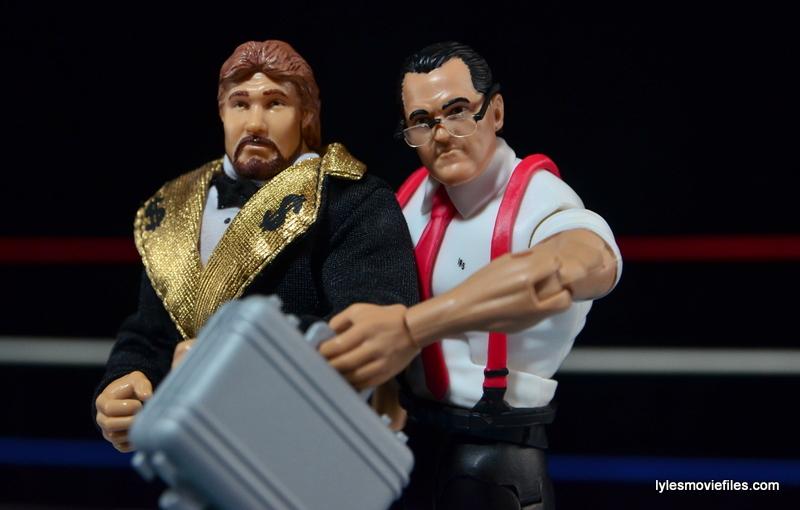 WWE IRS Mattel Elite figure review -Money Inc