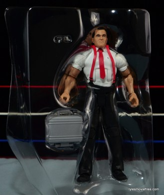 WWE IRS Mattel Elite figure review -in tray
