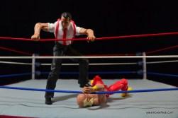 WWE IRS Mattel Elite figure review -stomping Hulk Hogan