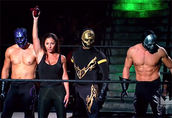lucha underground - catrina and disciples of death2