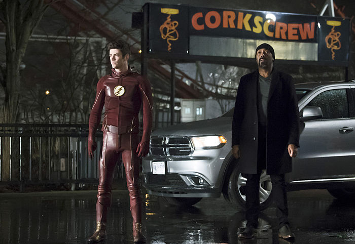 the flash back to normal review - barry and joe