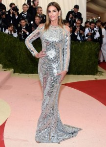2016 Met Gala - Cindy Crawford