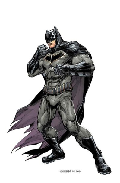 Batman Rebirth Variant Cover by Howard Porter