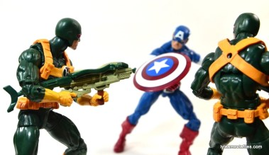 Captain America Hydra Soldier - battling Captain America