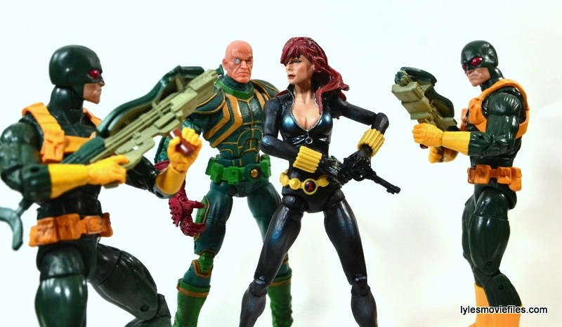 Captain America Hydra Soldier - surrounding Black Widow