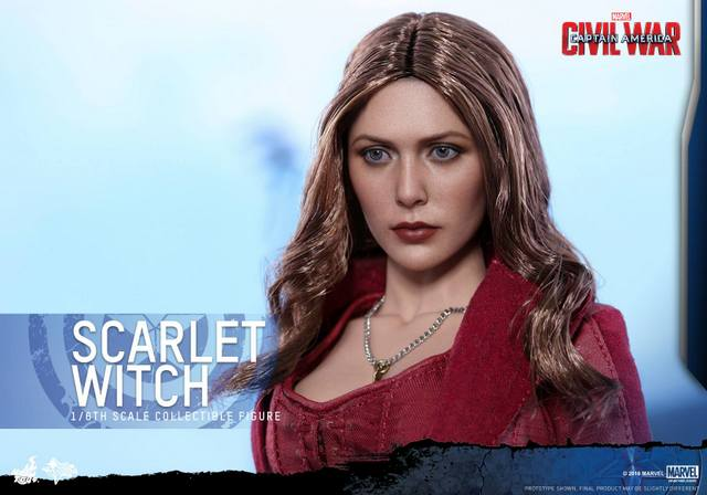 Hot Toys Scarlet Witch figure -portrait