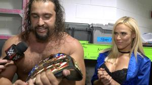 WWE Extreme Rules 2016 - Rusev and Lana
