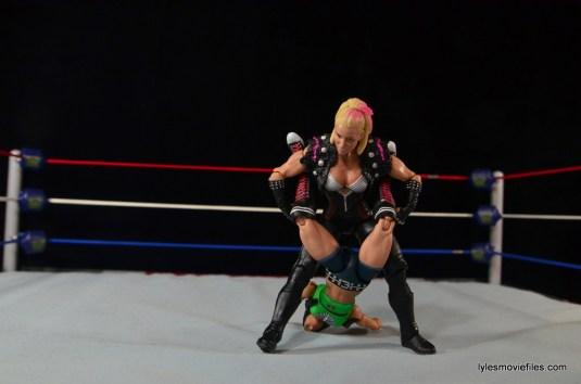WWE Natalya figure review - Boston Crab to AJ Lee