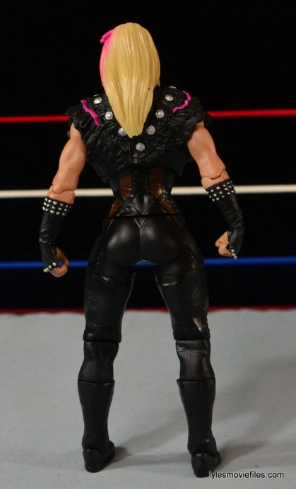 WWE Natalya figure review - rear side