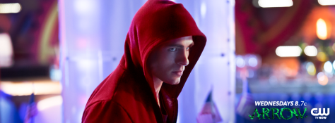 arrow-seeing red colton haynes as roy-harper