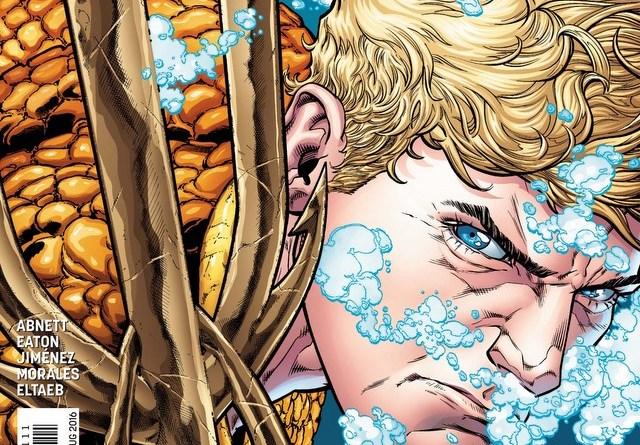 Aquaman Rebirth 1 cover