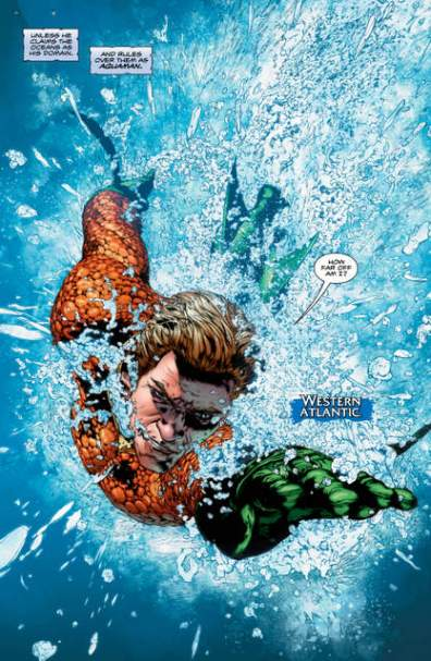 Aquaman Rebirth 1 page 2