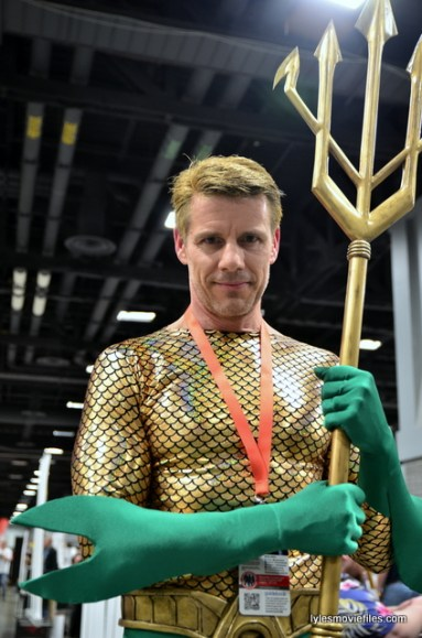 Awesome Con 2016 cosplay - Aquaman