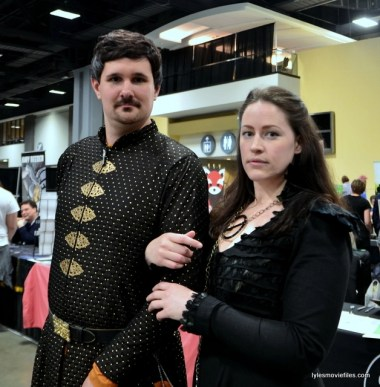 Awesome Con 2016 cosplay - Game of Thrones Littlefinger and Sansa