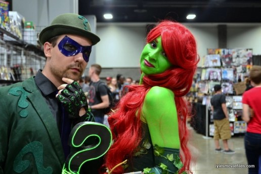 Awesome Con 2016 cosplay - Riddler and Poison Ivy