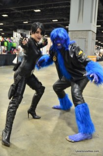 Awesome Con 2016 cosplay - X-Men Domino and Beast