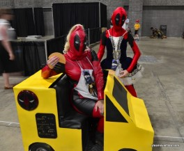 Awesome Con cosplay Day 2 -Food truck Deadpool and Lil Deadpool