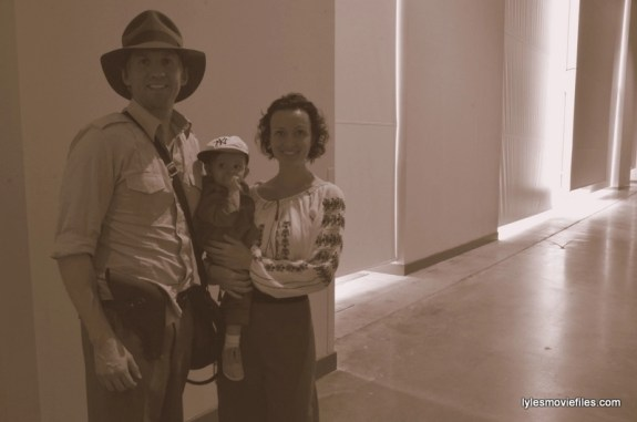Awesome Con cosplay Day 2 -Indiana Jones, Short Round and Willie