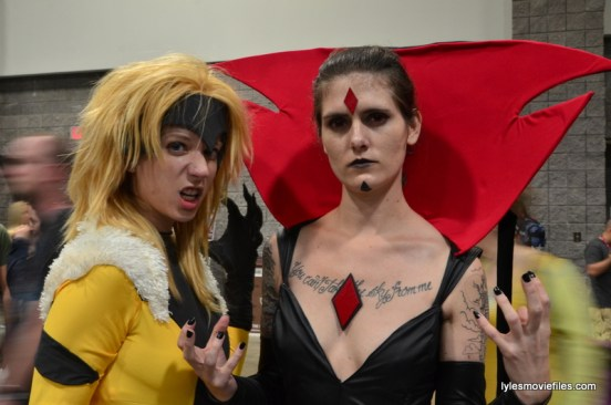 Awesome Con cosplay Day 2 -Sabretooth and Mrs. Sinister