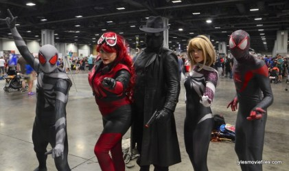 Awesome Con cosplay Day 2 -Spider-Verse