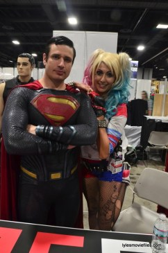Awesome Con cosplay Day 2 -Superman and Harley Quinn