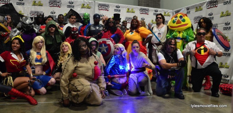 Awesome Con cosplay Day 2 -group cosplay right side