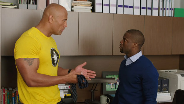 Central Intelligence - Dwayne Johnson and Kevin Hart