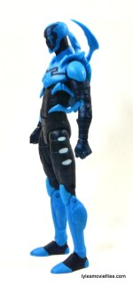 DC Icons Blue Beetle figure review -left side